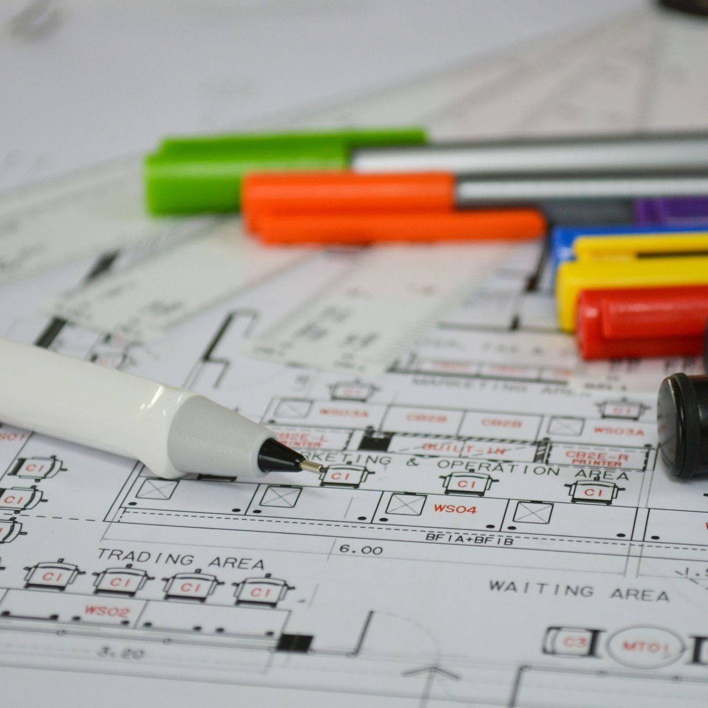 Floor Plan Numbering And Labelling i Stock 530615835